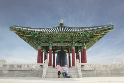 022115 - Korean Friendship Bell Surprise Proposal