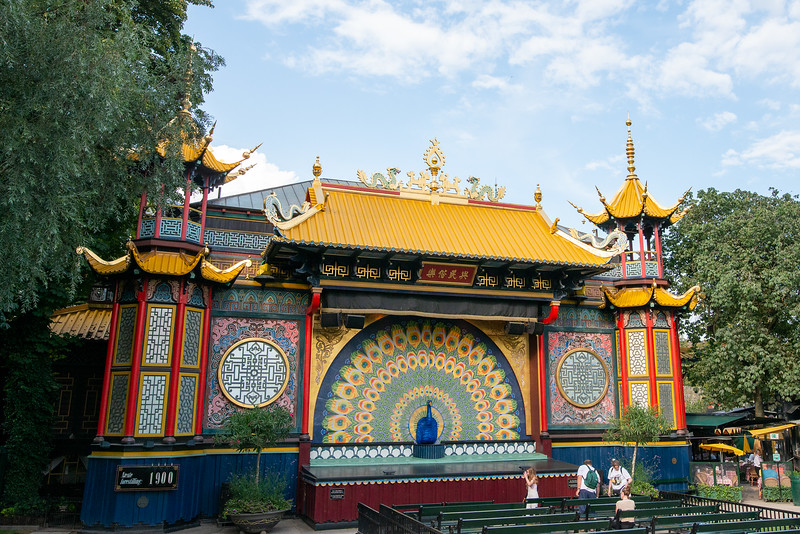 Tivoli Gardens - Asian-themed area