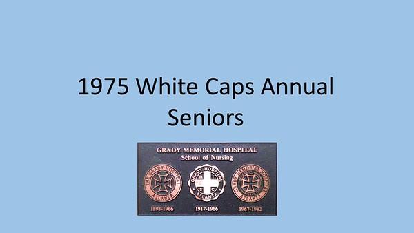 1975 White Caps Yearbook