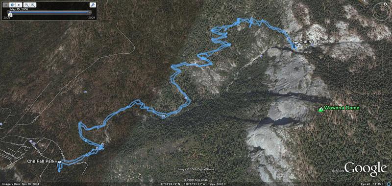 Chilnualna Falls Hike