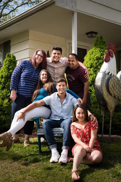 Family Portraits at Home in Old Saybrook