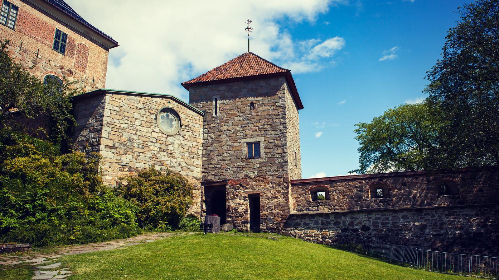 挪威阿克斯胡斯城堡(Akershus Festning), 穿制服的护卫