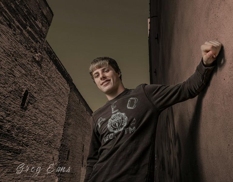 Senior portrait - Cody Clark.