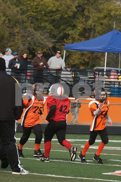 4th Grade-Odessa Bulldogs Red vs Oak Grove 10-17-09