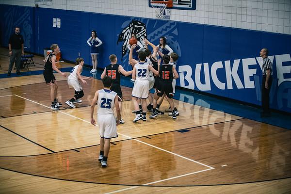 Buckeye Trail Basketball vs. Strasburg-Franklin