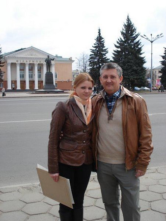 Manel And Julia Together In Vitebsk Belarus!