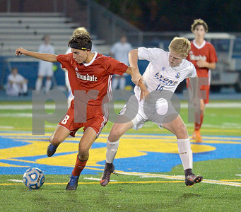 Lyons Township vs Hinsdale Central boys soccer