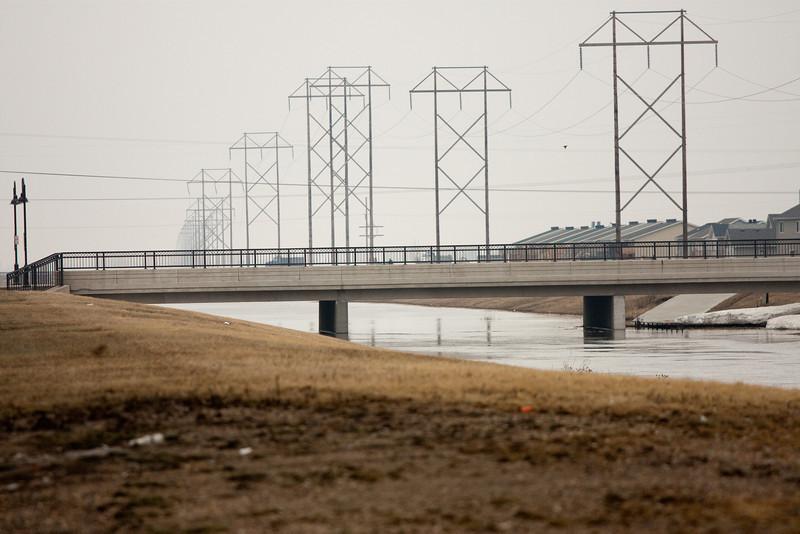 Diversion bridge, South
