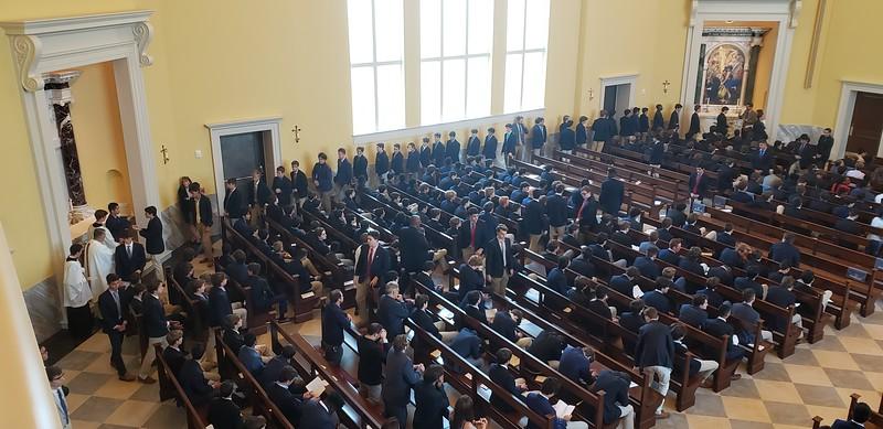 2019 05.16  Last School Mass of the Year