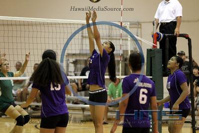 Damien Intermediate Girls Volleyball - University 9-21-13