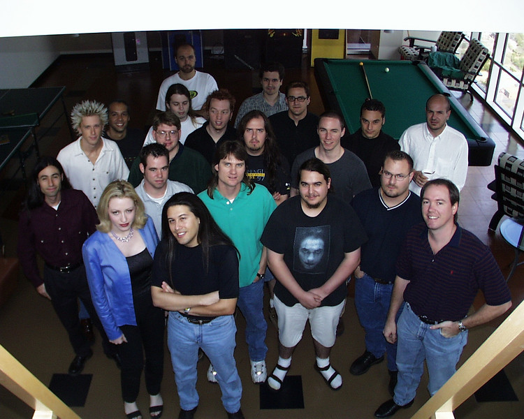 The last Daikatana team picture
