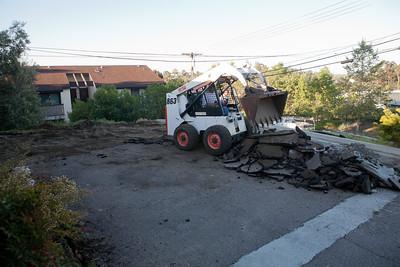 New driveway and backyard demolition and prep Monday/Tuesday