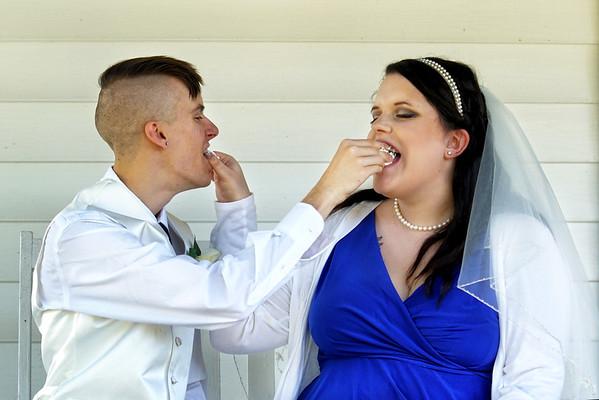 Hannah and Schuyler Moss Wedding