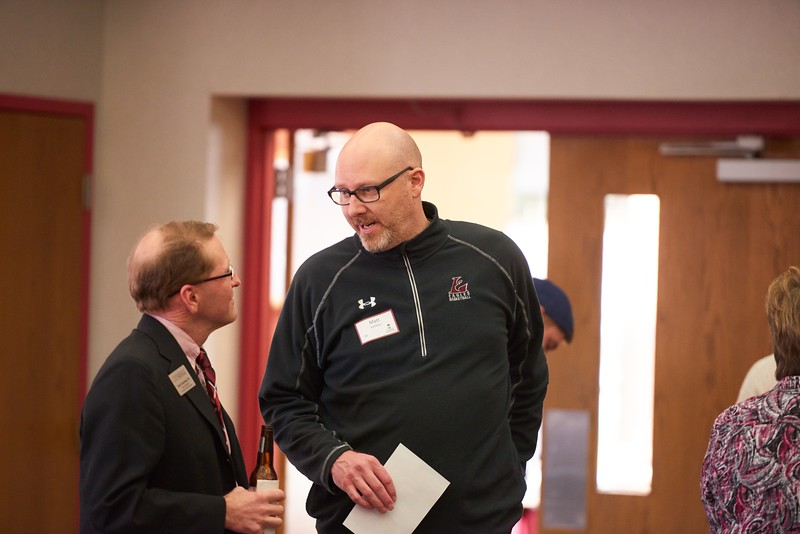 Activity; Socializing; Buildings; Cartwright; Location; Inside; People; Alumni; Staff; Spring; March; Time/Weather; day; Type of Photography; Candid; UWL UW-L UW-La Crosse University of Wisconsin-La Crosse; Eagles@Work Foundation