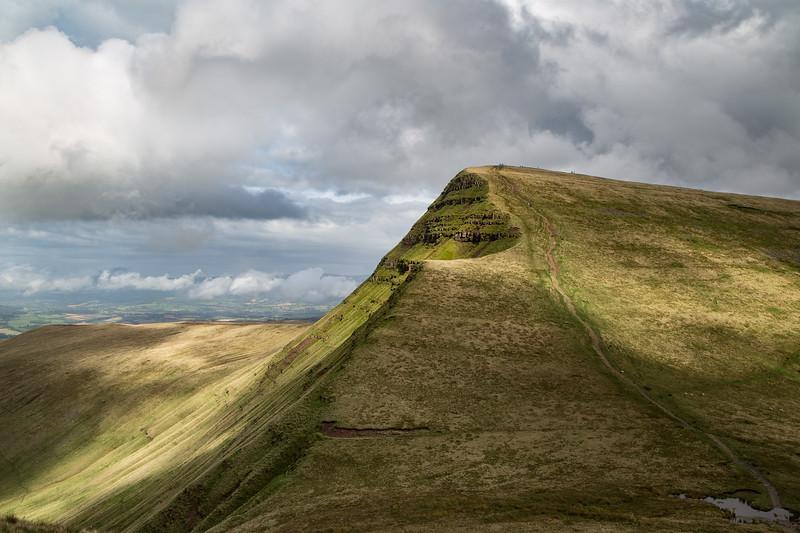 Brecon Beacons - Cribyn peak