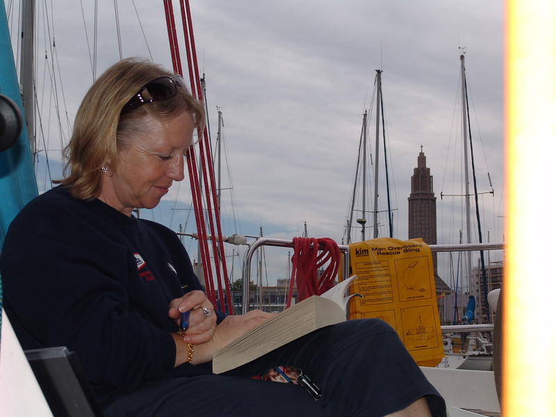 Julie Zelent on board SYCORAX