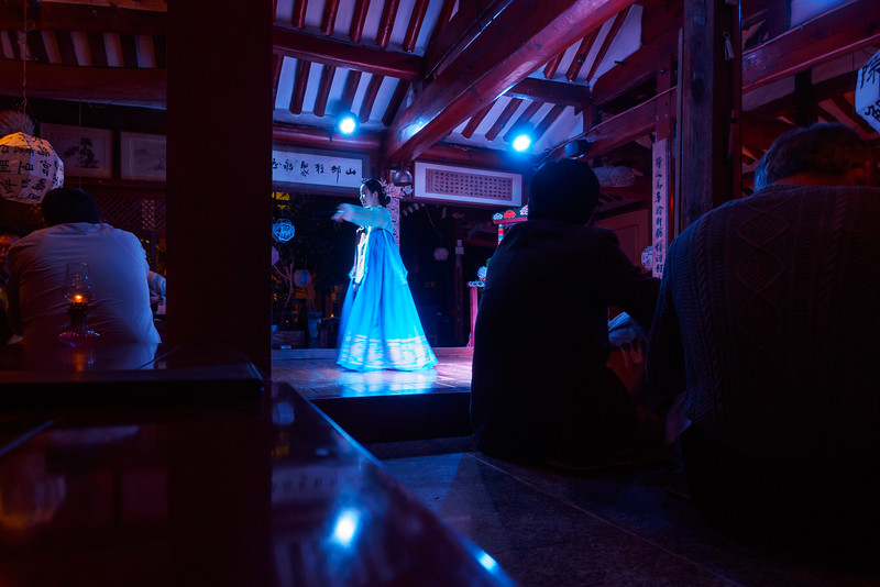 Traditional Korean dance in Seoul