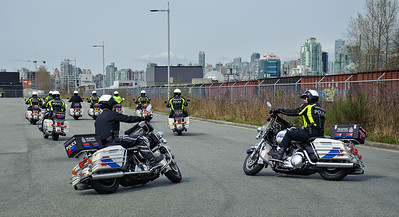 VPD Motorcycle Drill Team - 12 Apr 2011