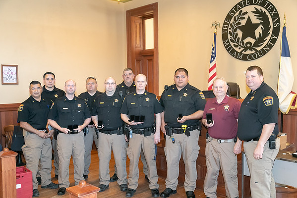Sheriff White Awards Presentation 2019
