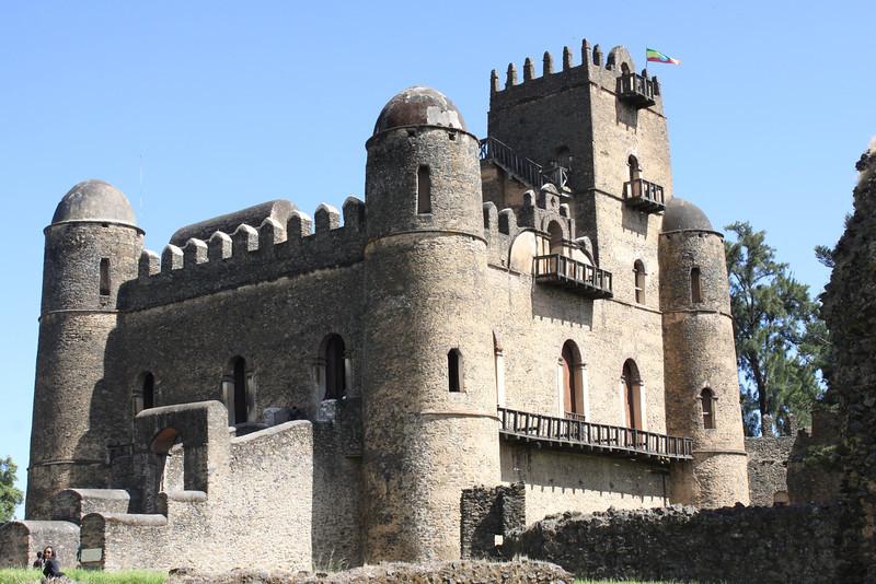 Gondar has six castles. This is Fasilides Castle built in 1635.