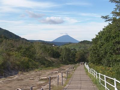Mount Usu Volcano