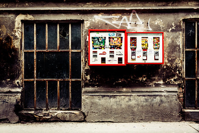 The lost age of the Kaugummiautomat