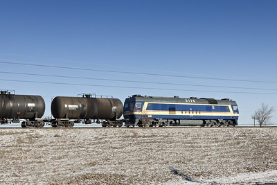 DF8 heads from Russian border with a tanker train