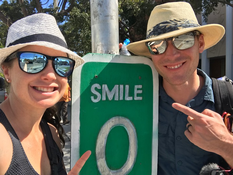 Mile 0 in Key West, Divergent Travelers