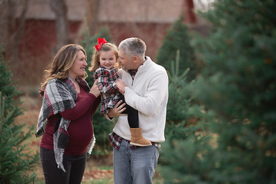 Eck Family Holiday Mini Session Outdoor Rustic Red Barn Tree Farm Nature Fun Playful Candid Happy Cute Formal Portrait Mini Holiday Kimberly Hatch Photography Western Mass New England Photographer Mill Crane Pond Westfield Photo Studio Western Mass Massac