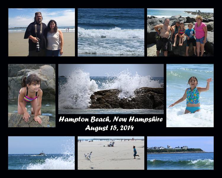 2014 8-15 Hampton Beach Family Trip