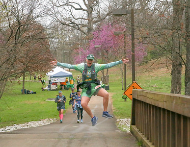 2018 Pistol Ultra:   Course near the Lucky Leprechaun Aid Station (Samantha Taylor)