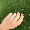 1.82ctw Diamond Cluster Ring 5