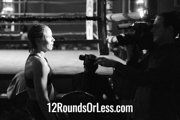 Bout #4  Samantha Griffith, Erie, PA vs Jennifer Woodward, Albany, NY Women's Lightweight