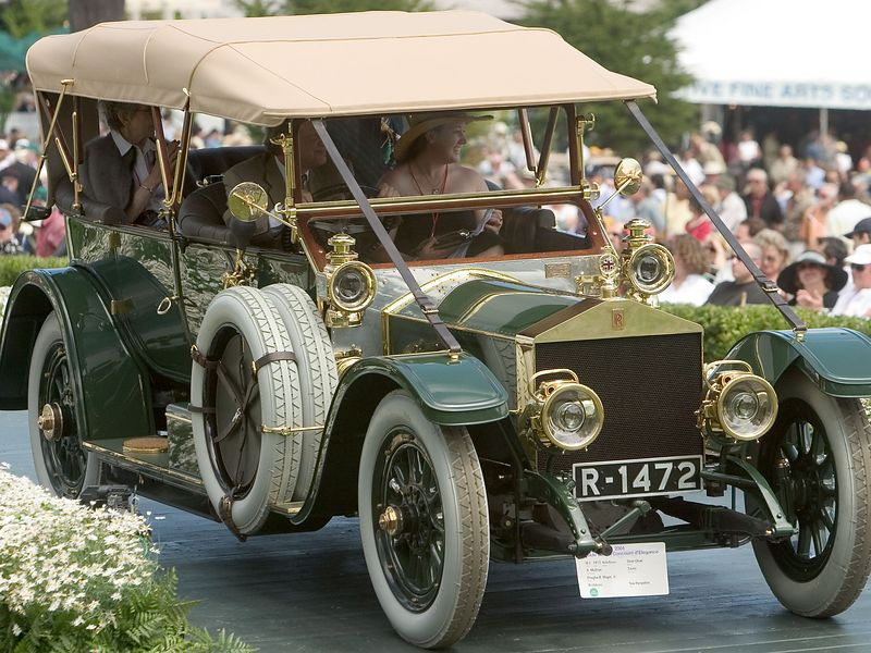 1912 Rolls-Royce Silver Ghost A. Mulliner Tourer.