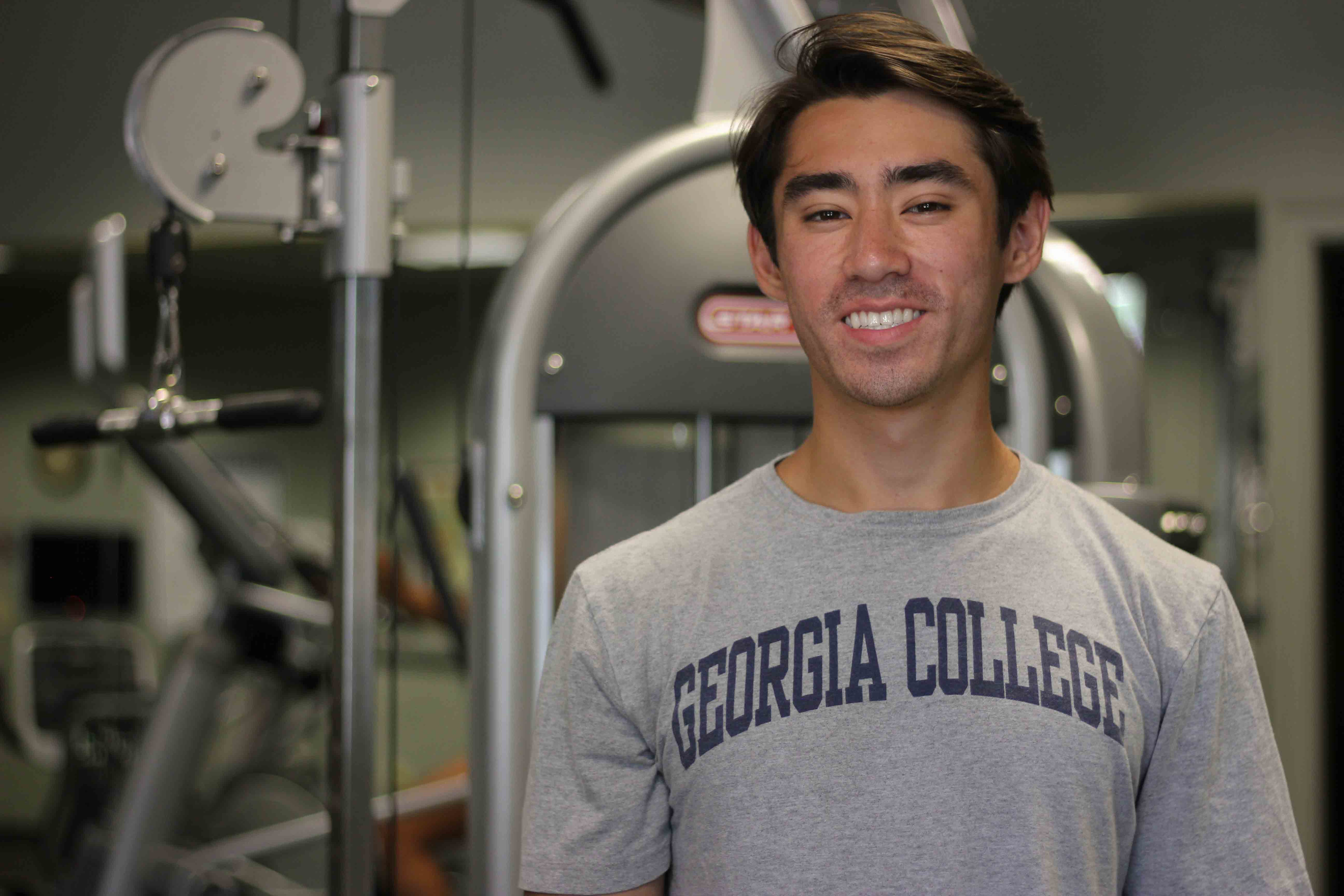 Joshua Selby, exercise science major