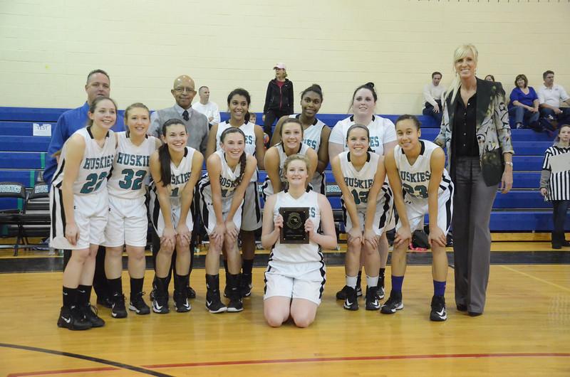 Girls Varsity Basketball March 1 vs Queen Anne's