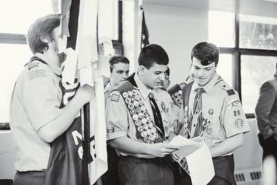 Boy Scout Ceremony
