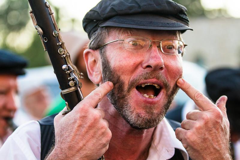 The happy clarinet