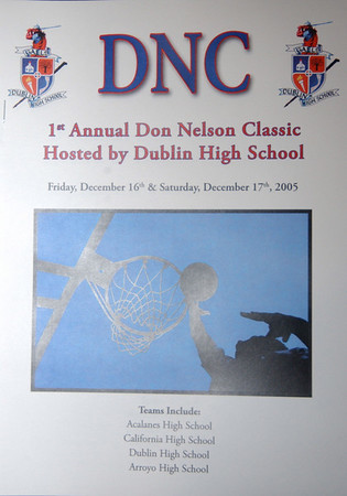 DHS Varsity Boys Basketball DNC - 12-16-05