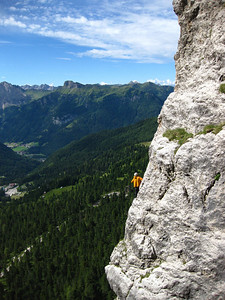 Dolomites Alpine Rock Climbing