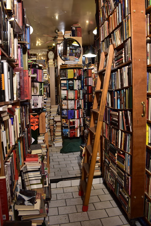 Abbey Bookshop in Paris, France