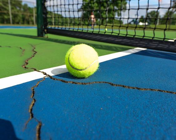 Tennis Court Cracks for All Star Tennis