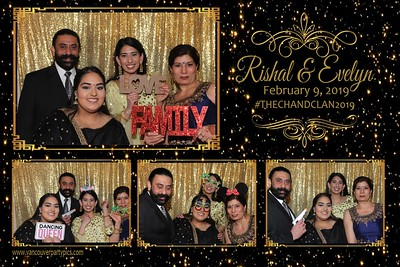 Evelyn and Rishal's Wedding