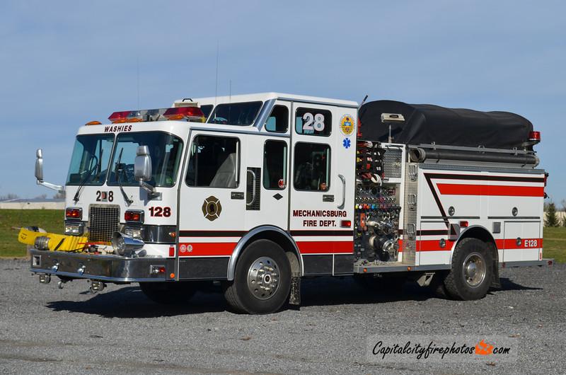 Mechanicsburg X- Engine 1-28: 1995 Spartan Diamond/Darley 1500/500   (** Replaced in 2016, unknown disposition **)
