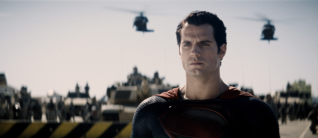 """. HENRY CAVILL as Superman in Warner Bros. Pictures and Legendary Pictures� action adventure \""""MAN OF STEEL,\"""" a Warner Bros. Pictures release."""