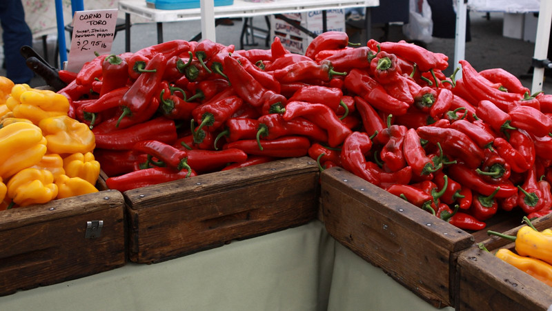 Fiery peppers