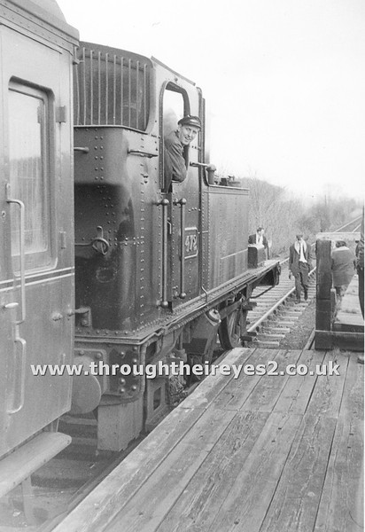 Kemble to Cirencester Branch line last day of service 5th April 1964