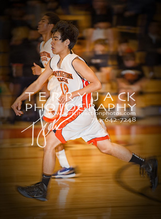 Newport Harbor High School @ Huntington Beach High School Basketball