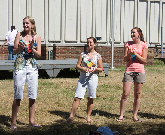 Girls State retreat, city meeting