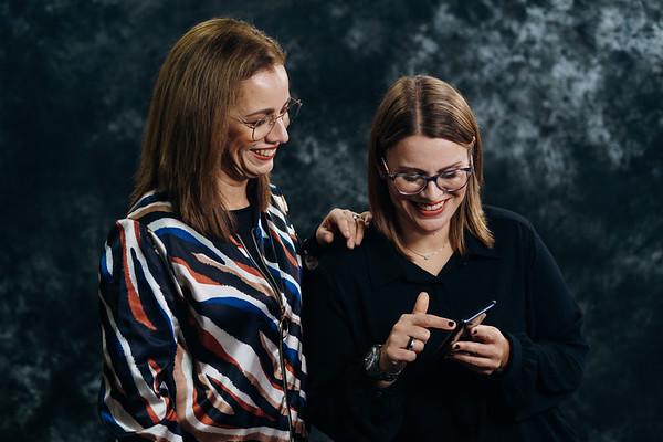 Sandra Meneses Fonseca e  Vanda Meneses, consultoras Kobold.